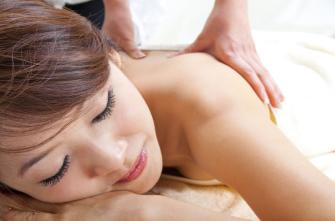 Thai-Rückenmassage